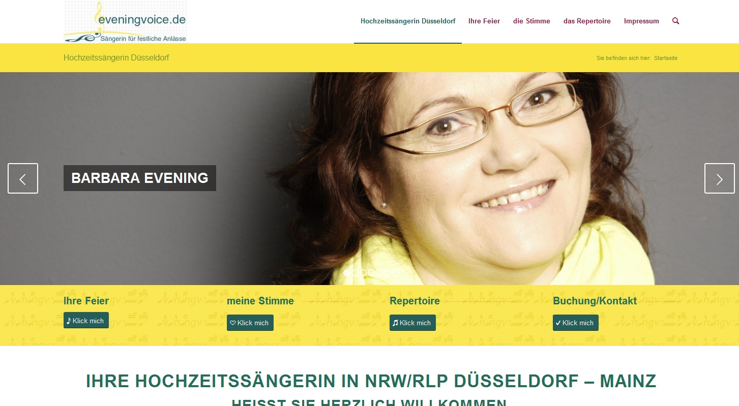 webdesign mainz eveningvoice